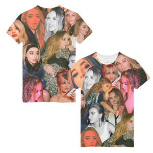 Many Faces Tee - Sabrina Carpenter