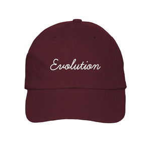 EVOLUTION DAD CAP (BURGUNDY) - Sabrina Carpenter