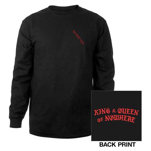 SABRINA LONG SLEEVE TEE (BLACK) - Sabrina Carpenter