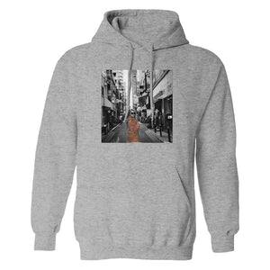 JAPAN PULLOVER HOODIE (GRAY) - Sabrina Carpenter