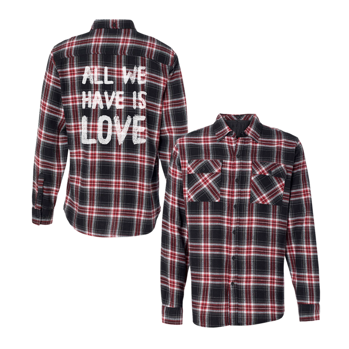 ALL WE HAVE IS LOVE FLANNEL - Sabrina Carpenter