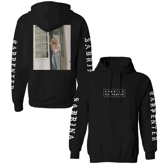 PULLOVER PHOTO HOODIE (BLACK) - Sabrina Carpenter