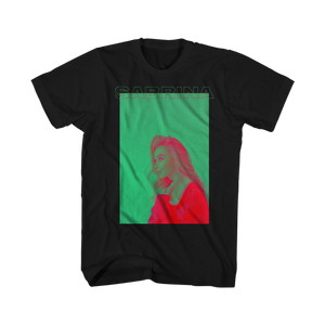 POP ART PHOTO TEE (BLACK) - Sabrina Carpenter