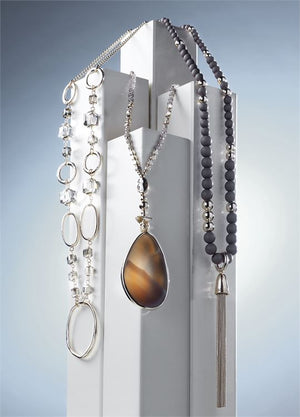 Long Necklace - 3 Assorted
