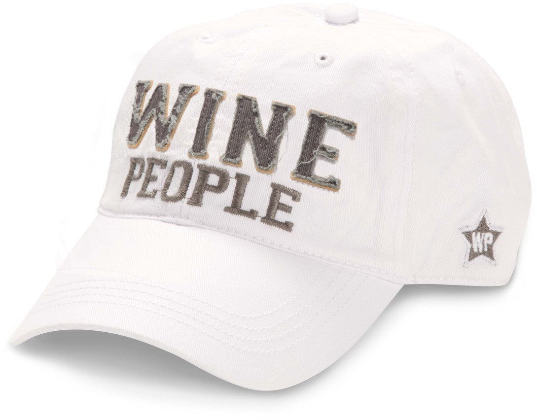 Wine People Uni-sex Snapback Hat