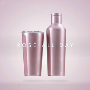 Rose Metallic Tumbler Collection