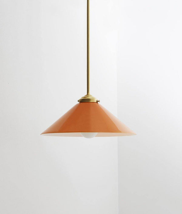 "Suspension ""Empereur"", orange, moyenne"