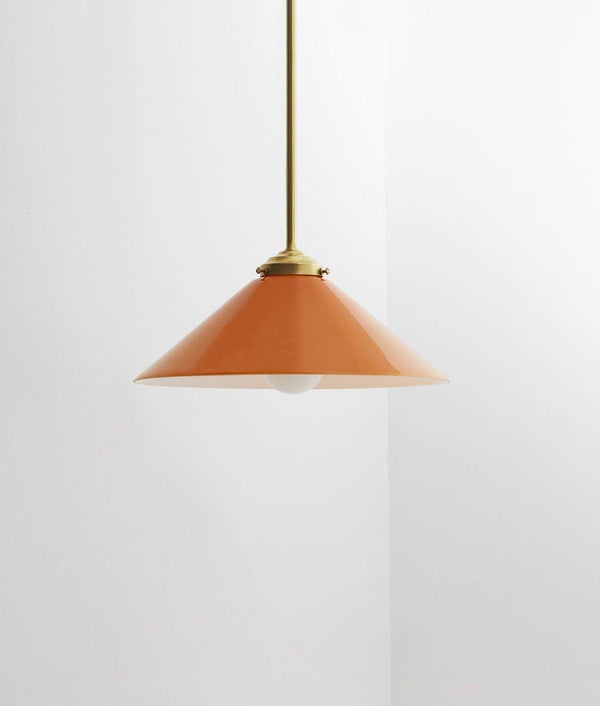 "Suspension ""Empereur"", orange, petite"