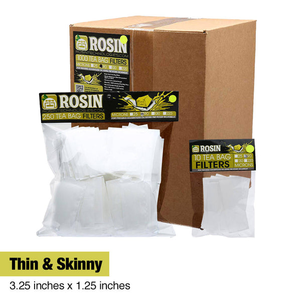 Thin & Skinny Rosin Filters
