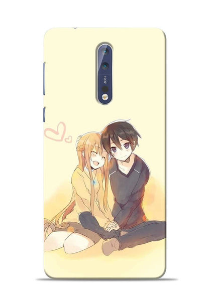 Iam In Love Nokia 5 Mobile Back Cover
