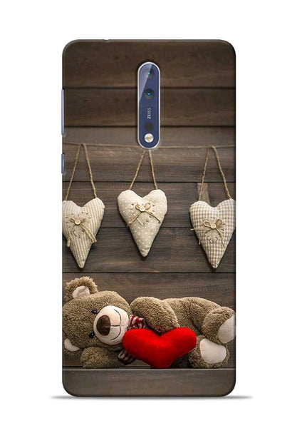 Teddy Love Nokia 5 Mobile Back Cover