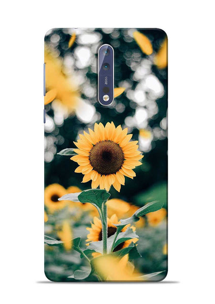 Sun Flower Nokia 5 Mobile Back Cover