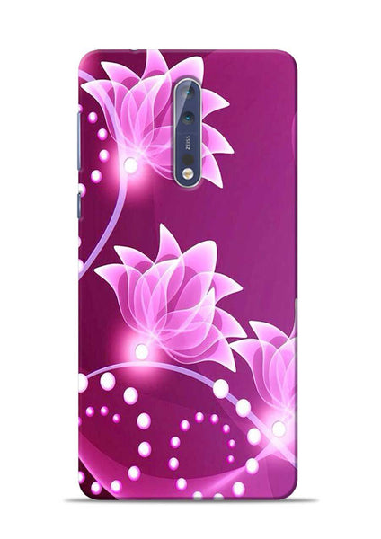 Pink Flower Nokia 5 Mobile Back Cover