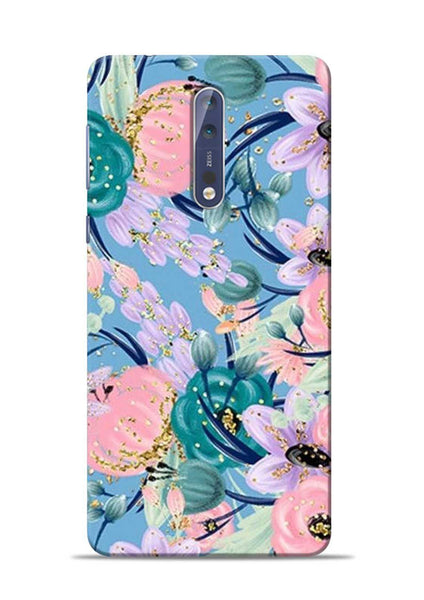 Lovely Flower Nokia 5 Mobile Back Cover