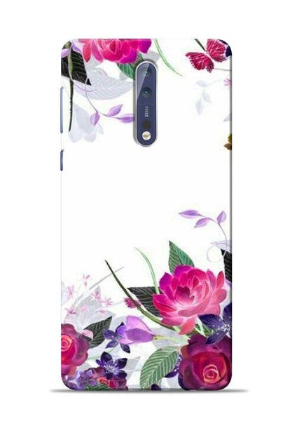 The Great White Flower Nokia 5 Mobile Back Cover