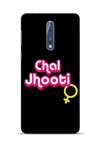 Chal Jhooti Nokia 5 Mobile Back Cover