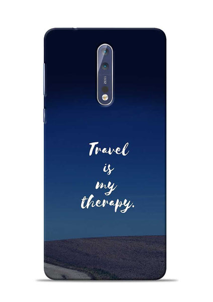 Travel Is My Therapy Nokia 5 Mobile Back Cover