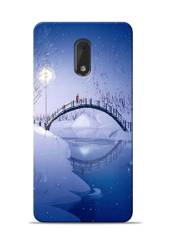 Night Bridge Nokia 6 Mobile Back Cover