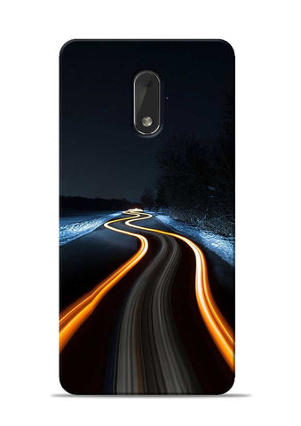 Great Night Drive Nokia 6 Mobile Back Cover