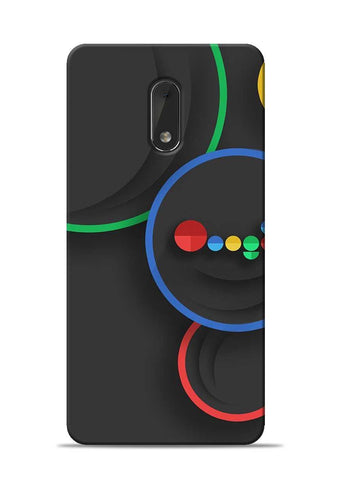 The Hoogle Nokia 6 Mobile Back Cover