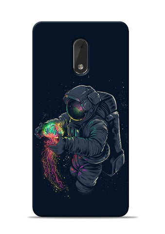 Astronaut Landed Nokia 6 Mobile Back Cover