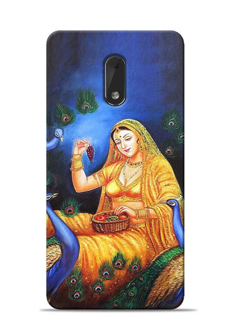 The Peacock Nokia 6 Mobile Back Cover