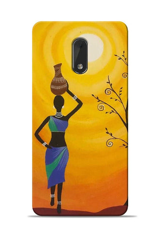 Fetching Water Nokia 6 Mobile Back Cover