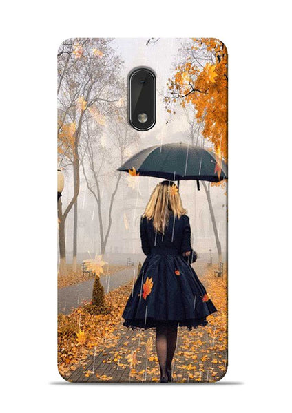 Walk In A Rain Nokia 6 Mobile Back Cover