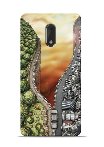 Forest City Nokia 6 Mobile Back Cover