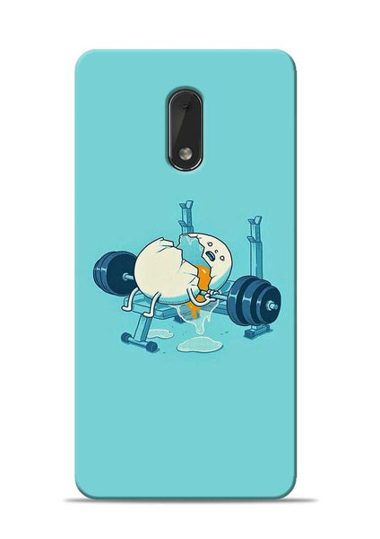 Gym And Diet Nokia 6 Mobile Back Cover