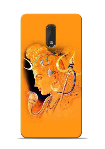 The Great Shiva Nokia 6 Mobile Back Cover