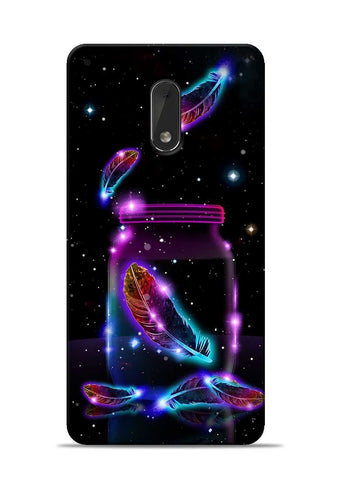 Glowing Bird Fur Nokia 6 Mobile Back Cover