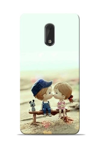 The First Kiss Nokia 6 Mobile Back Cover
