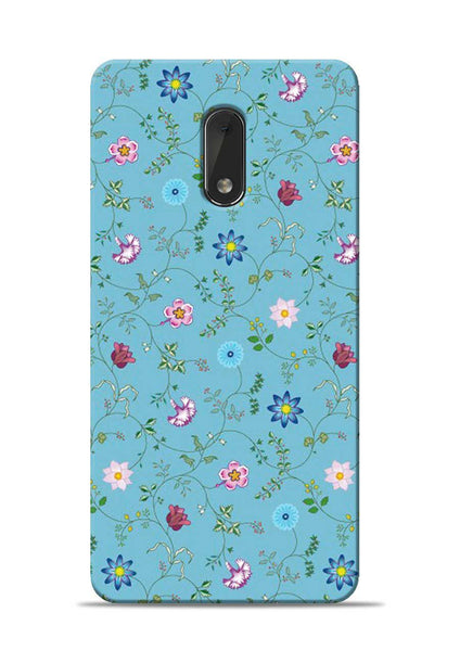 Fallen Flower Nokia 6 Mobile Back Cover