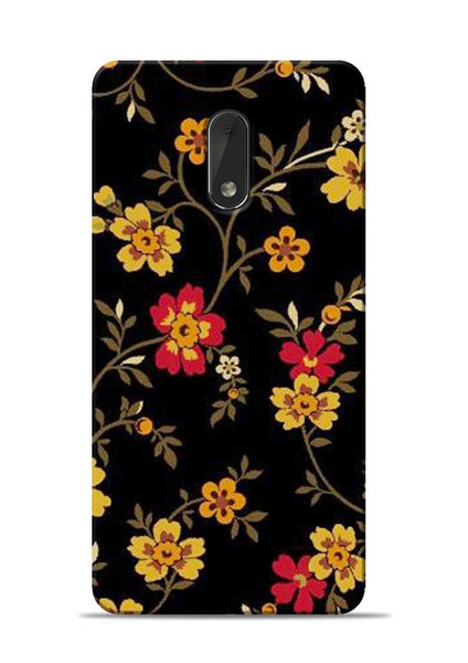 Rising Flower Nokia 6 Mobile Back Cover
