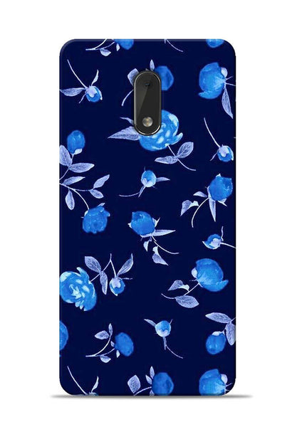 The Blue Flower Nokia 6 Mobile Back Cover