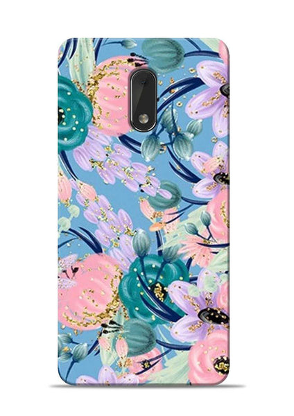 Lovely Flower Nokia 6 Mobile Back Cover