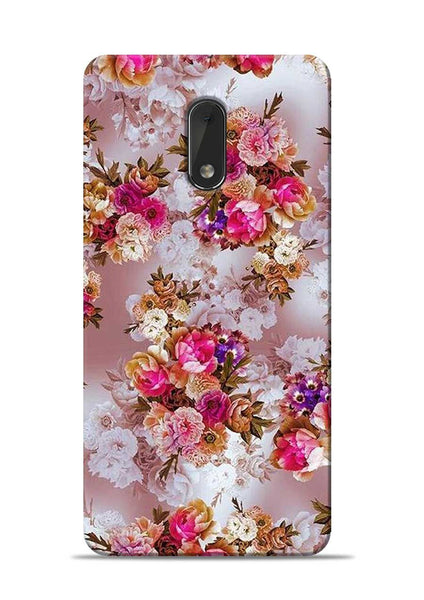 Rose For Love Nokia 6 Mobile Back Cover