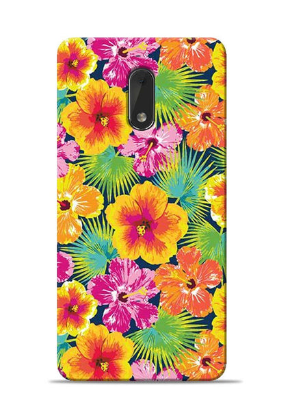 Garden Of Flowers Nokia 6 Mobile Back Cover