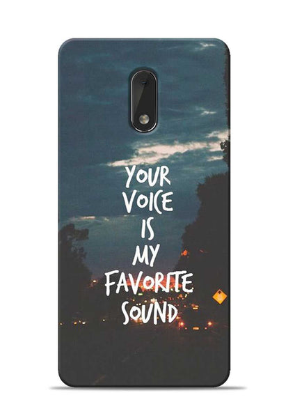 Your Voice Nokia 6 Mobile Back Cover