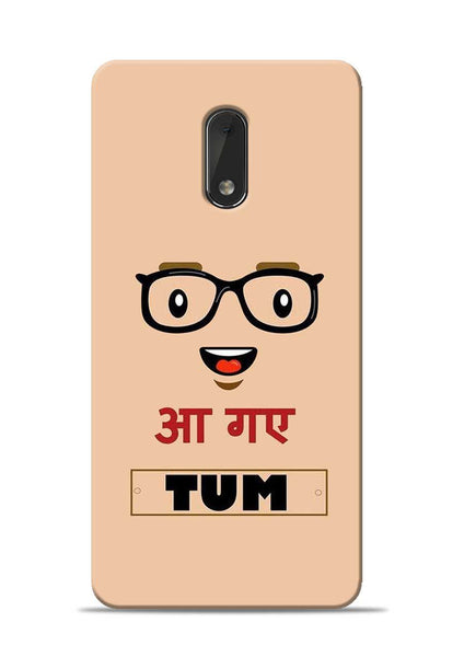 Agaye Tum Nokia 6 Mobile Back Cover