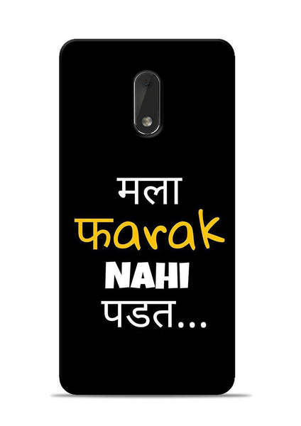 Farak Nahi Padta Nokia 6 Mobile Back Cover