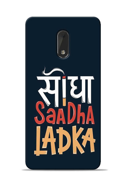 Saadha Ladka Nokia 6 Mobile Back Cover