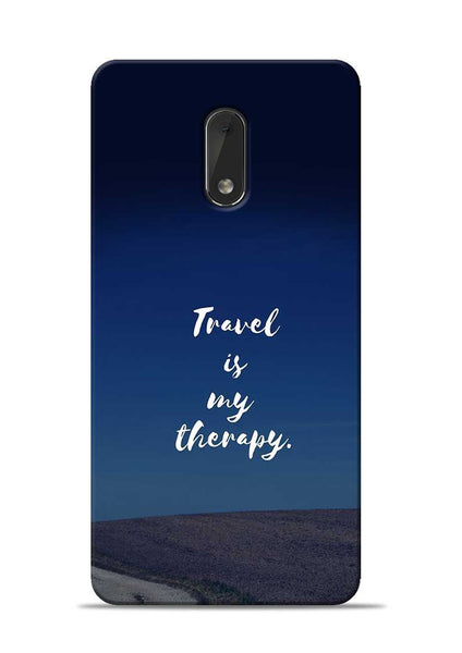Travel Is My Therapy Nokia 6 Mobile Back Cover