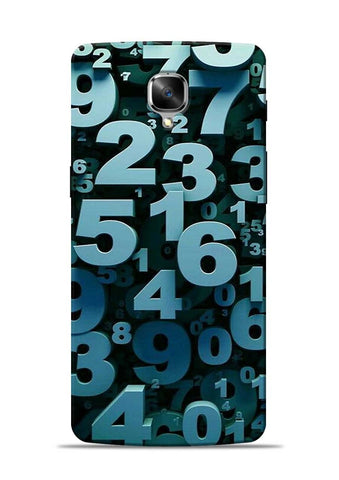 The Numbers OnePlus 3T Mobile Back Cover