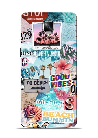 To Beach OnePlus 3T Mobile Back Cover
