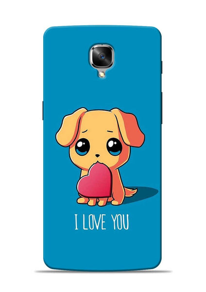 The Love OnePlus 3T Mobile Back Cover