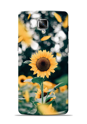 Sun Flower OnePlus 3T Mobile Back Cover