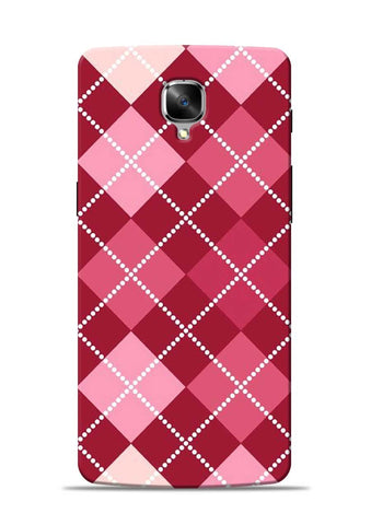 Pink Stride OnePlus 3 Mobile Back Cover