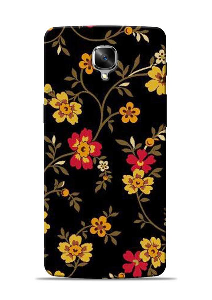 Rising Flower OnePlus 3 Mobile Back Cover